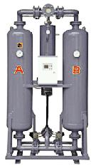 Осушители адсорбционные с горячим типом регенерации ОВА-Т